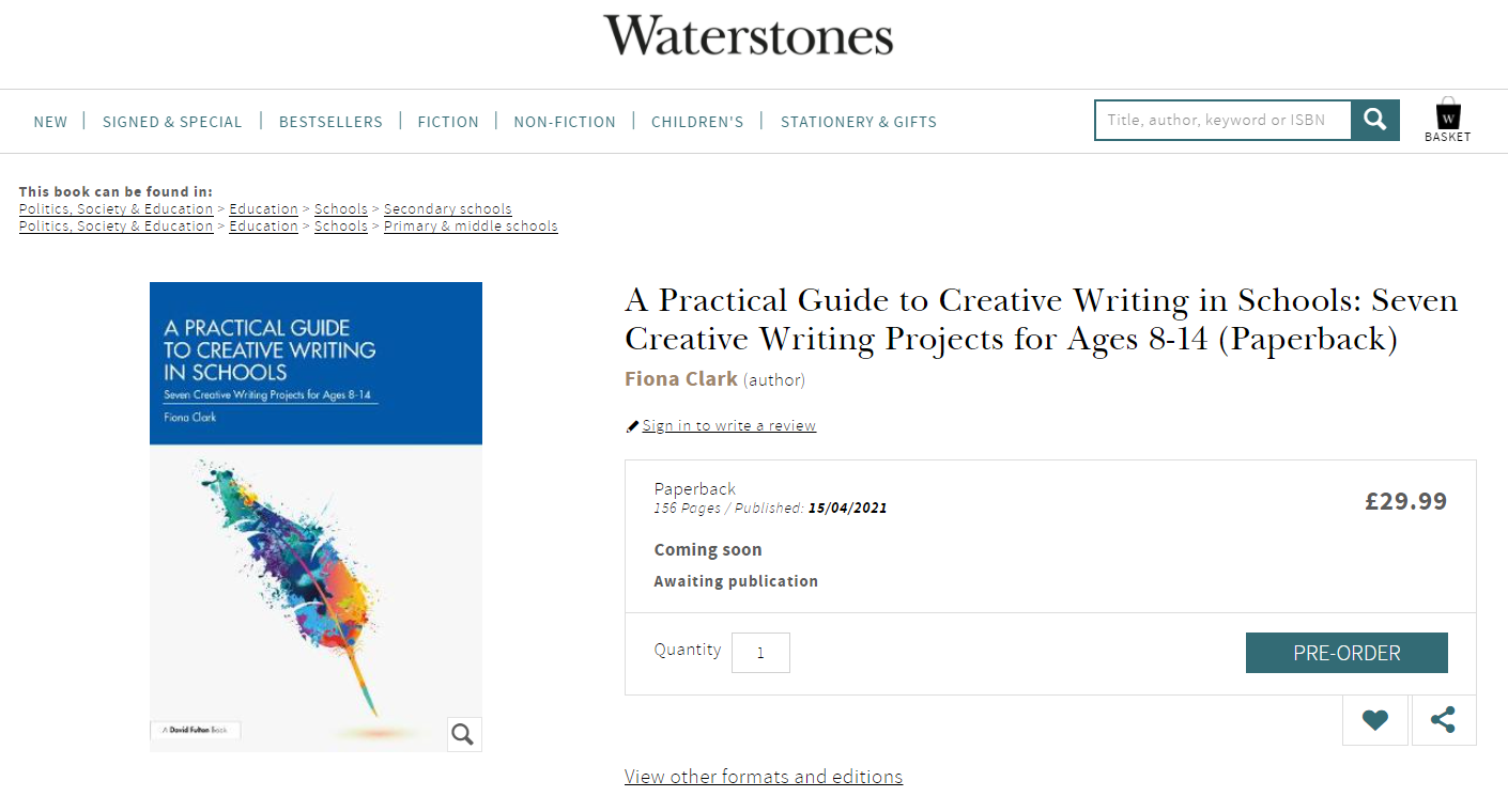 waterstones page